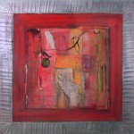 1015 adore 100X100cm assemblage wood