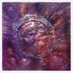 1026 supernova 50X50cm assemblage wood