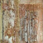 1036 vanilla 1 42X100cm assemblage wood