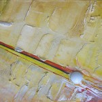 1045 abschlag 84X33cm assemblage wood
