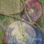 1097 tennis blue 100X100 acryl canvas