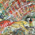 1102 limit 280X110cm acryl canvas